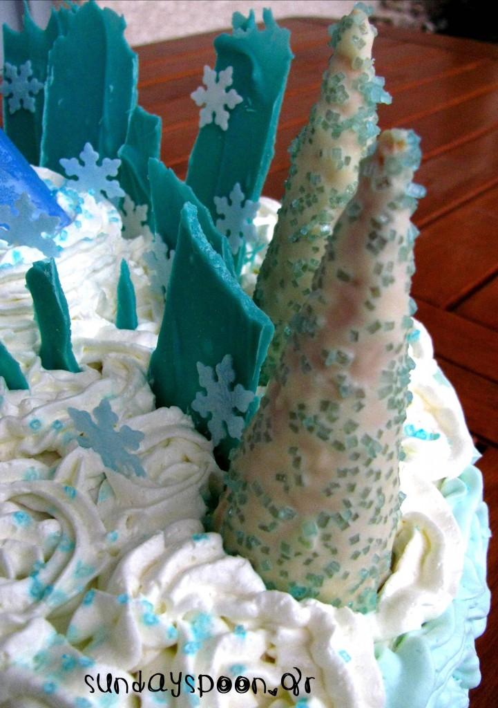 Τούρτα γενεθλίων Frozen